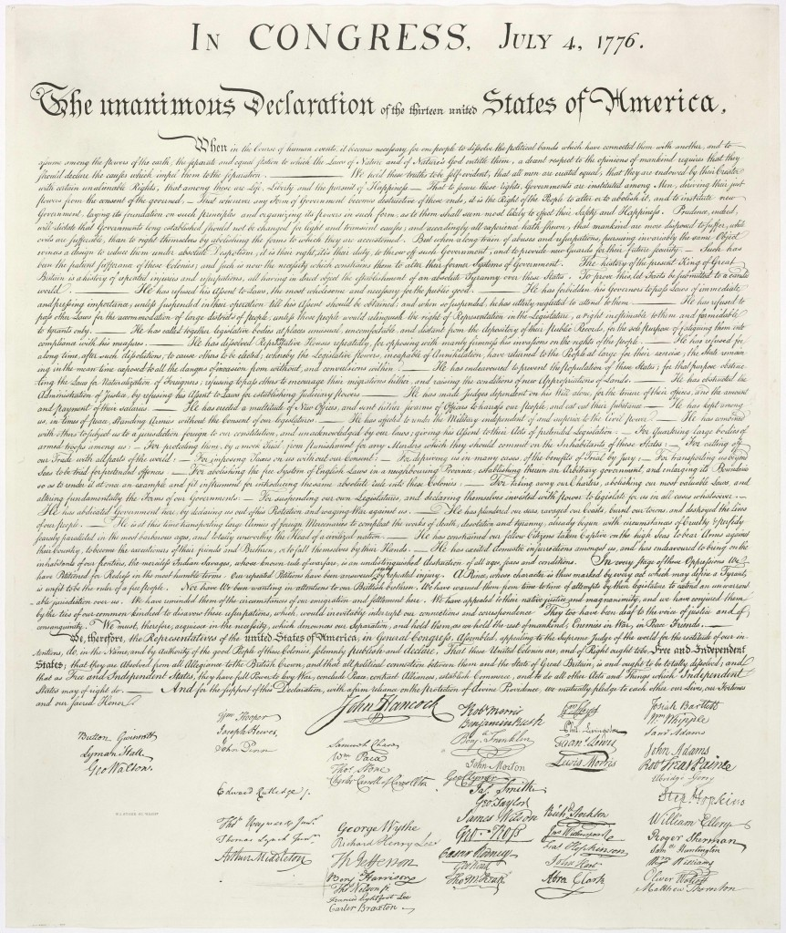 Declaración de la Independencia / Declaration of Independence